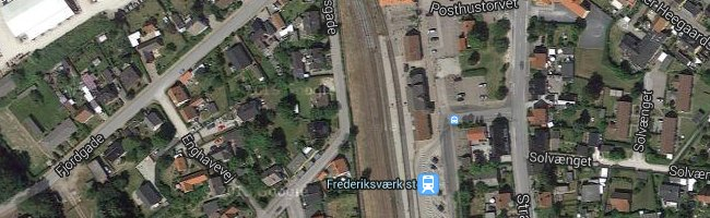 Frederiksværk st. Foto: ©Google Maps