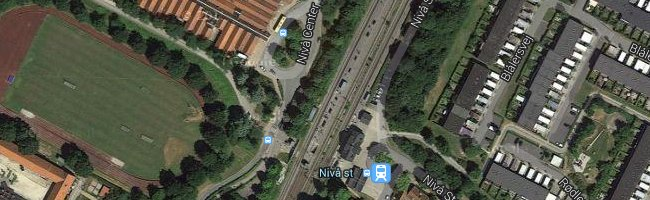 Nivå st. Foto: ©Google Maps