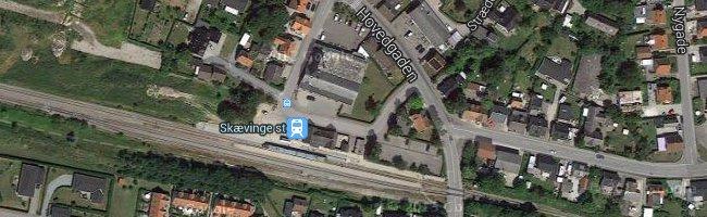 Skævinge st. Foto: ©Google Maps