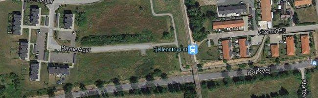 Fjellenstrup st. Foto: ©Google Maps