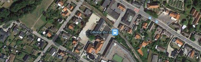 Gilleleje Øst st. Foto: ©Google Maps