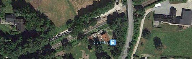Grønholt st. Foto: ©Google Maps