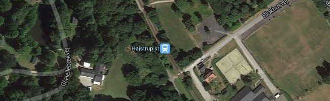 Højstrup st. Foto: ©Google Maps