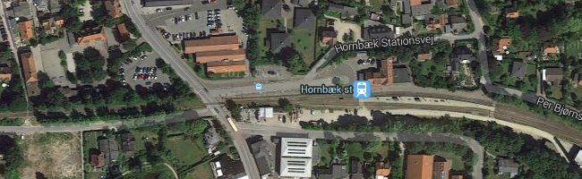 Hornbæk st. Foto: ©Google Maps