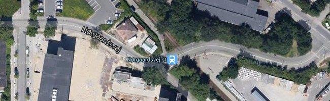 Nørgaardsvej st. Foto: ©Google Maps