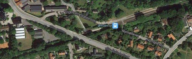 Ørholm st. Foto: ©Google Maps