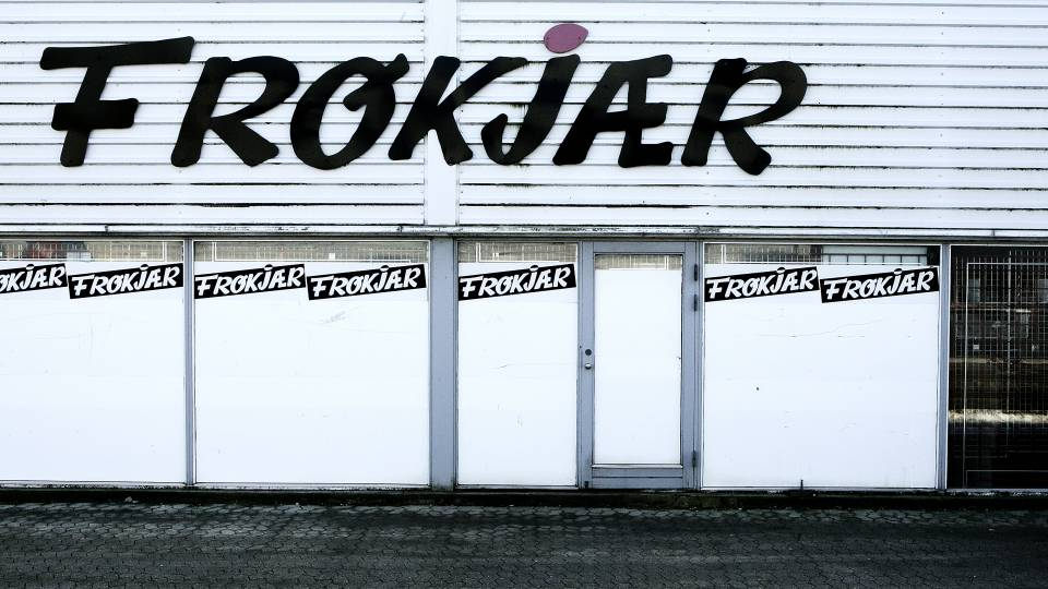 Tøjkæden Frøkjær gået konkurs