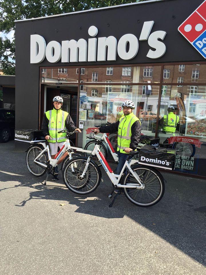 Domino's vil skifte til el-cykler