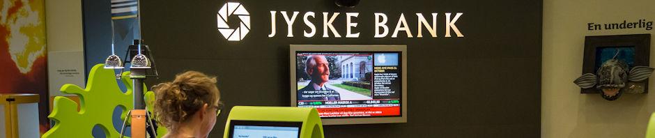 Jyske Bank dropper Visa/Dankort