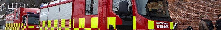 Fremtidens brandbil var på besøg hos Hovedstadens Beredskab