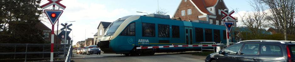 Arriva skal stå for togtrafikken i Midt- og Vestjylland og på Svendborgbanen