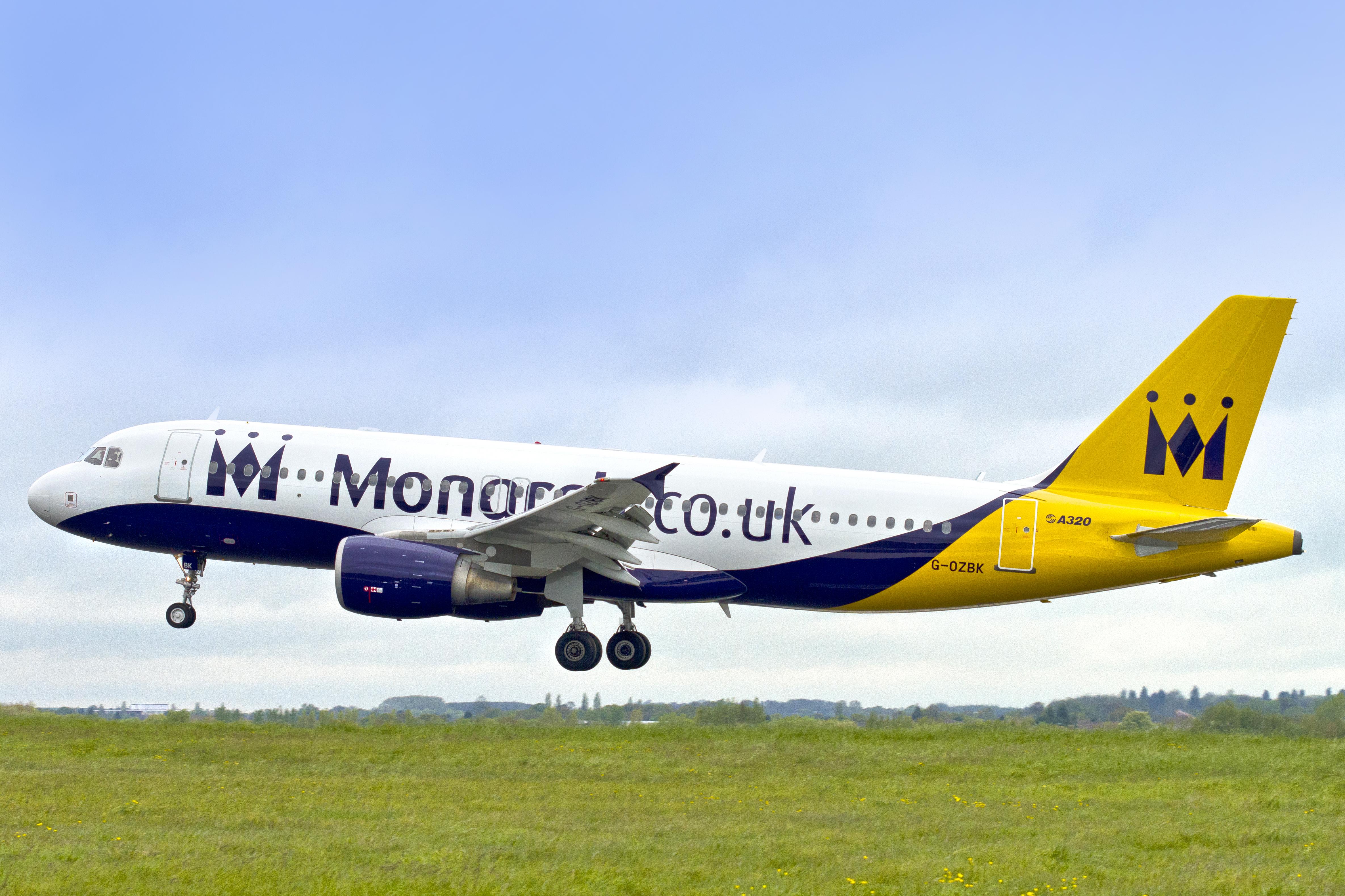 Monarch Airlines konkurs