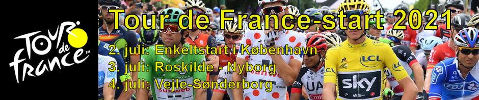 Danmark skal afholde Tour de France-start i 2021