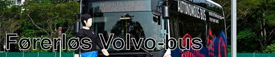 Volvo præsenterer selvkørende bus