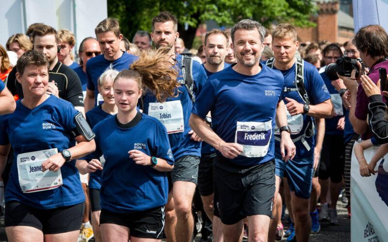 Kronprinsen inviterer igen danskerne til Royal Run