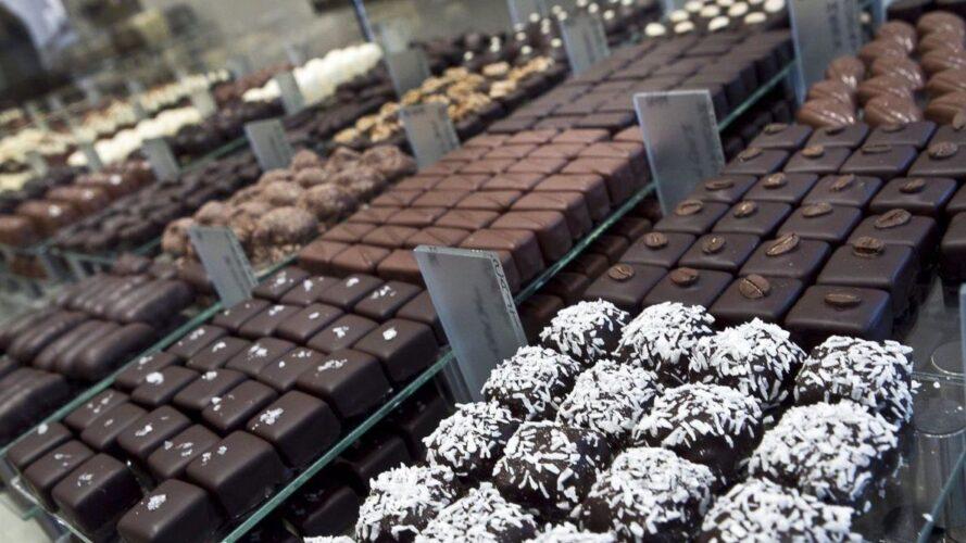 Beiers chokoladebutikker hårdt ramt af solen