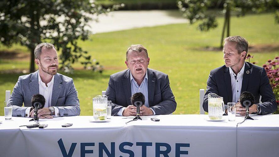 Lars Løkke Rasmussen og Kristian Jensen trækker sig