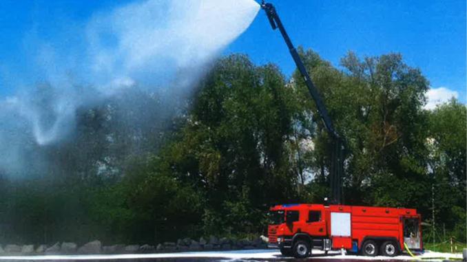 Storebæltsberedskabet får nyt specialkøretøj til brandslukning