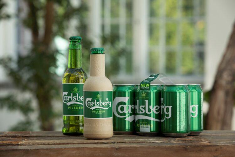 Carlsberg et skridt nærmere den grønne papirflaske