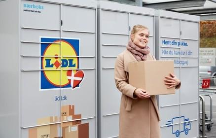 Lidl vil tiltrække nye kunder med pakkebokse