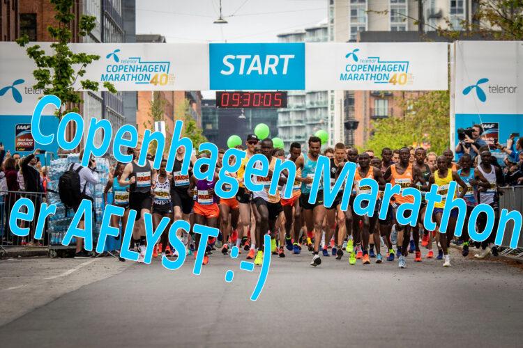 Copenhagen Marathon 2020 er AFLYST :-)