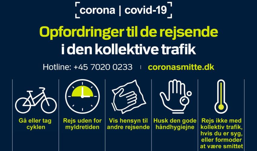 Corona-hysteriet præger den kollektive trafik :-(