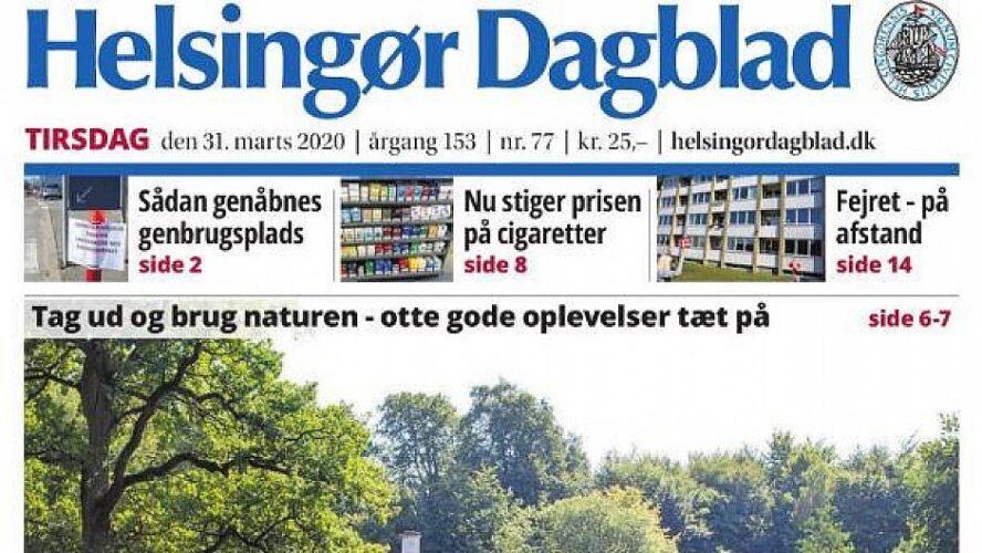 Helsingør Dagblad solgt