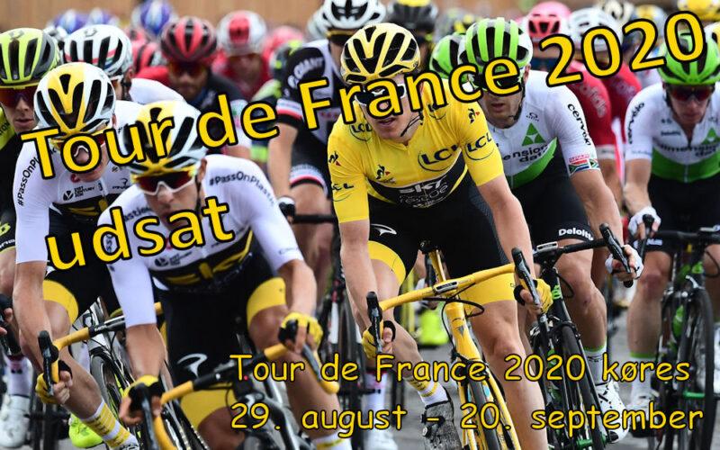 Tour de France flyttes