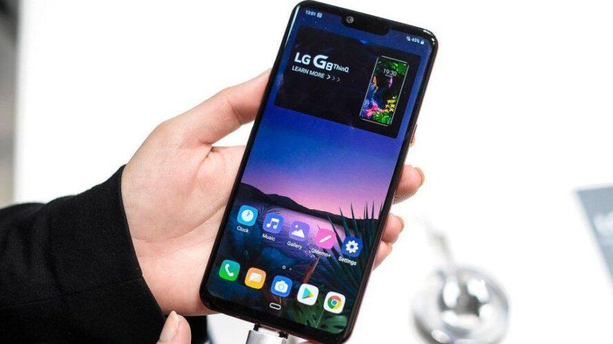 LG dropper al produktion af smartphones