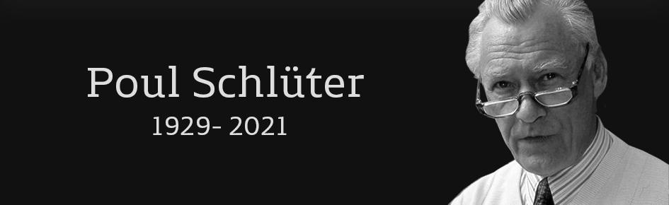 Poul Schlüter er død