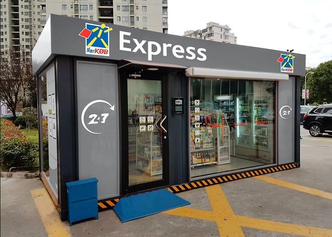 NærKØB åbner ubemandet butik i Faxe