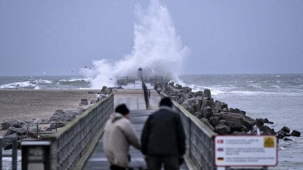 TV 2 VEJRET varsler vindstød af stærk storm